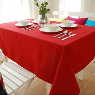 Tablecloths Solid Colour