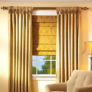 Drapes, Curtains & Window Coverings