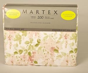 Martex 200 Thread Count 4 Piece Sheet Set