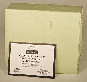 600 Thread Count Queen Size 4 Piece Sheet Set:
