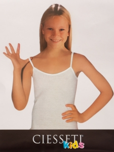 Ciesseti Narrow Strap Girls Undershirt