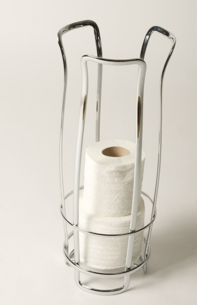 Flat Wire Tulip Toilet Paper Holder Grace Textile