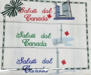 Souvenir 3 Pack Tea Towels