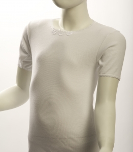 Moretta Half Sleeve Girls Undershirt (#314)