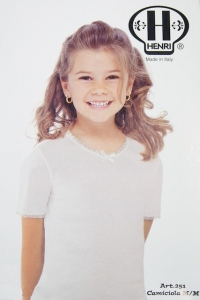 Henri Girls Half Sleeve Undershirt (#251)