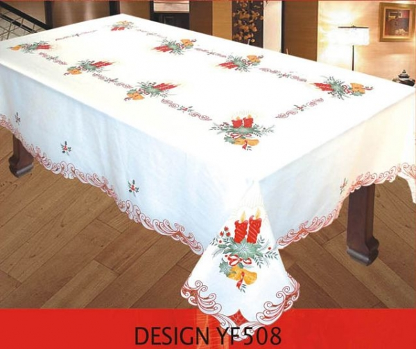 Printed Holiday Tablecloth (call For Availability)