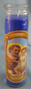 Religious Candle C019 St. Joseph